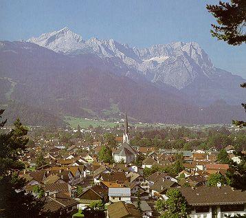 Garmisch Partenkirchen and the Zugspitze!  Amazing views!! Wonderful memory! Germany!