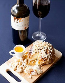 To die for... Deep fried Camembert and cashews recipe