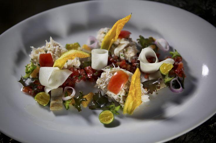 Spanner Crab Kinilaw: http://gustotv.com/recipes/salads/spanner-crab-kinilaw/