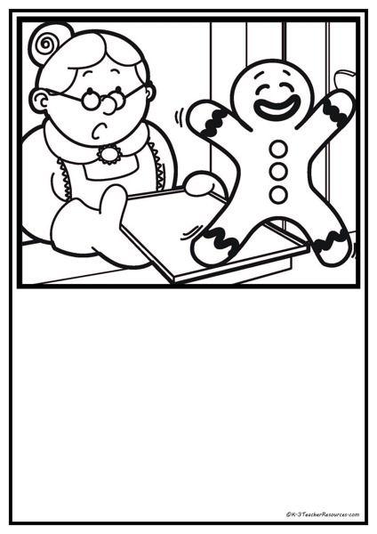 114 best Fairytales - pepparkaksgubben \/ the gingerbread boy - gingerbread man template