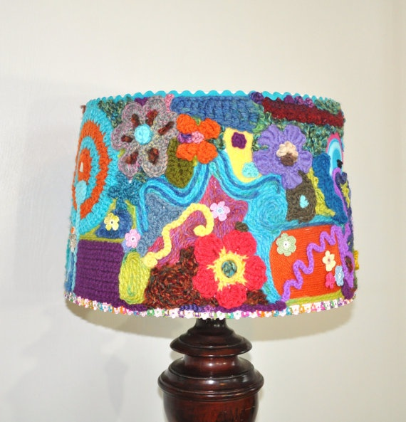 1000 images about cool lamp shade on pinterest paper lanterns floor lamps and crochet lampshade - Cool lamp shade ...