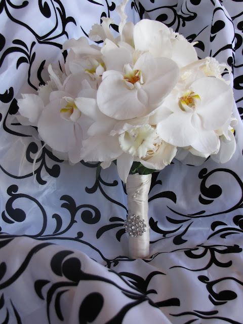 White Orchid Bouquet for me? simple & small