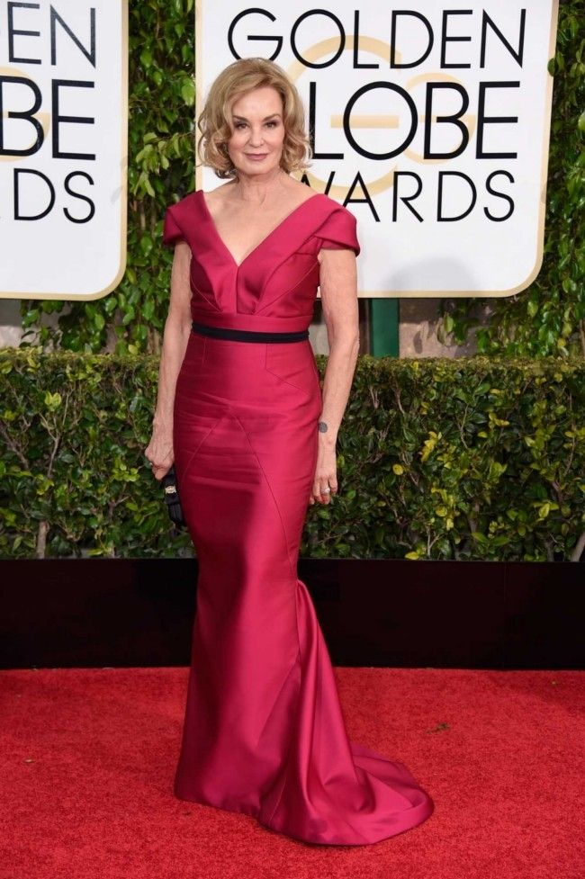 Golden Globes 2015: what they're wearing: Jessica Lange