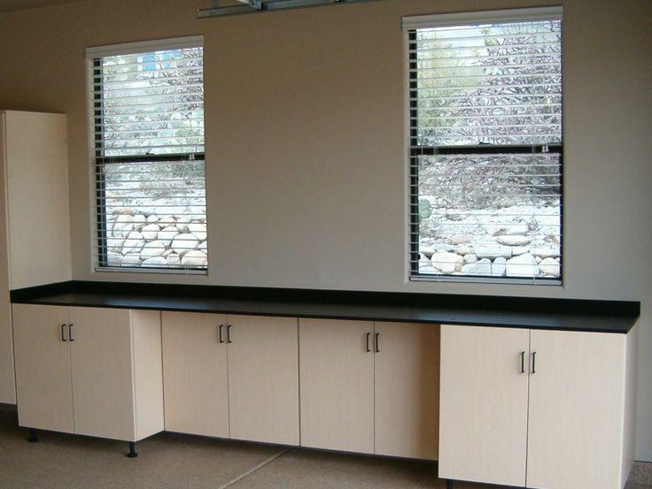 Workbenches by Garage Storage Cabinets
