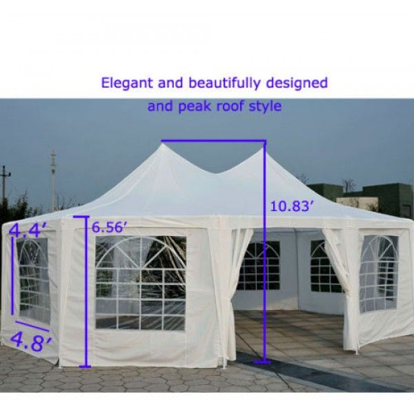 50% OFF on 29 x 21 Decagonal Party Tent | Event Tent Prices in USA