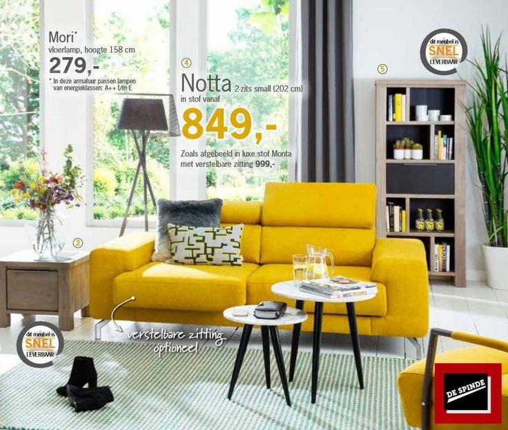 Wat vinden jullie van deze gele bank uit de Happy @Home collectie?