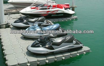 HDPE jet ski floating dock $350~$380