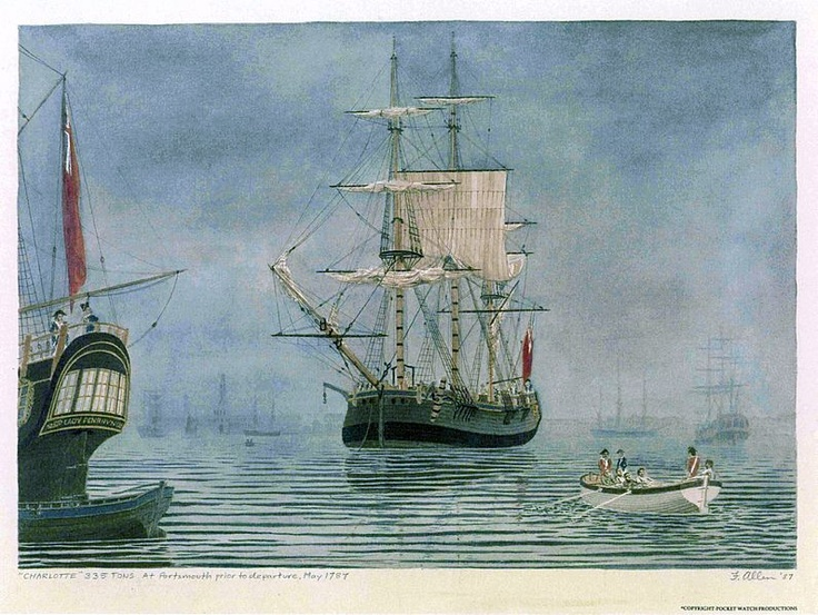 May 13, 1787. The First Fleet leaves for Australia. 11 ships left England for…