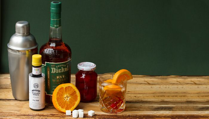 Old Fashioned Punch: A Party-Sized Take on a Classic Cocktail