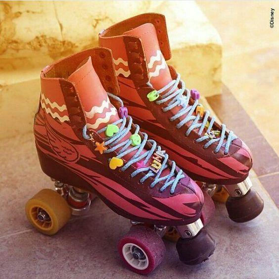 Aaaaaaaa los patines de luna
