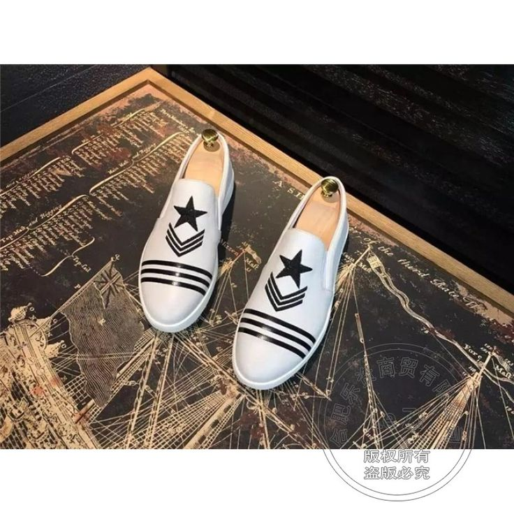 109.24$  Buy now - http://alirlx.worldwells.pw/go.php?t=32758856796 - Mens Shoes Sales Shoe Exercise Shoes Sport Full Grain Leather Star Alternative Solid Color Plain Arrow Matte Triangle