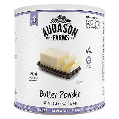 Emergency Preparation Food Augason Farms MRE Butter Powder 36oz Prepper Survival