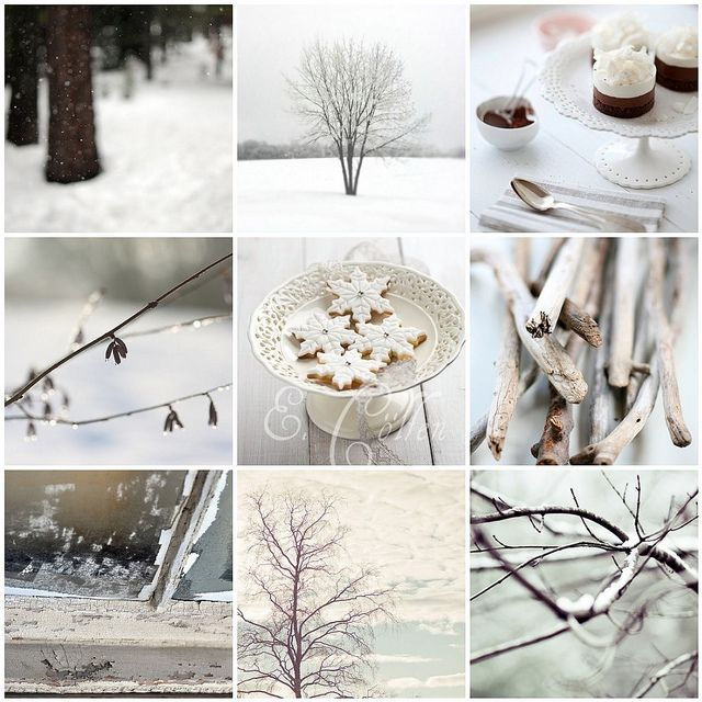 Winter comforts.
