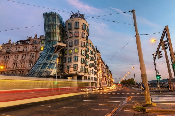 The Dancing House  Photo by Roman Betik from the blog http://www.StillGlimmers.com/