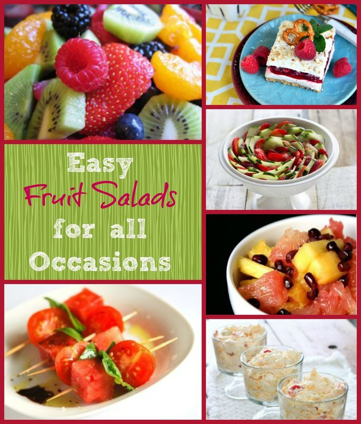 26 Easy Fruit Salad Recipes: These delicious fruit salad recipes are perfect for all occasions!