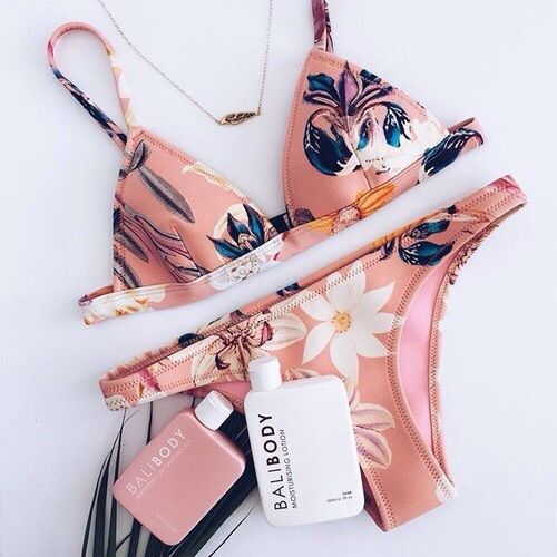 Imagem de fashion, bikini, and summer