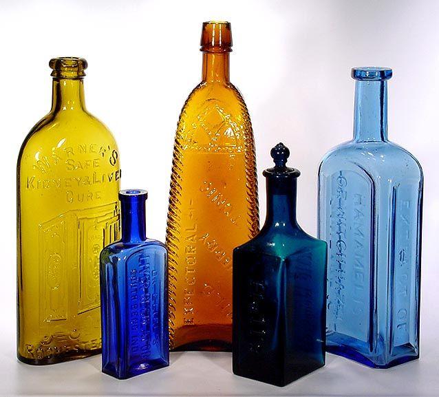 Antique bottle site