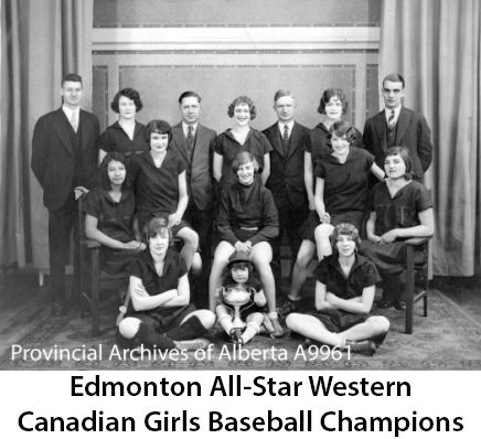 In the late 1930s, a school sports day in the Red Deer and Lacombe area featured 77 softball teams but just five baseball nines. Description from ashfm.ca. I searched for this on bing.com/images