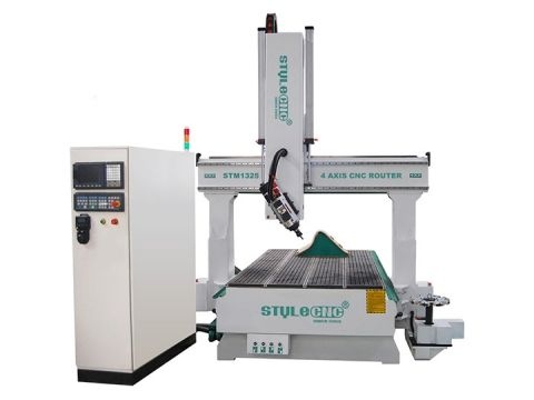 STYLECNC® 4 axis CNC Router for sale with cost price