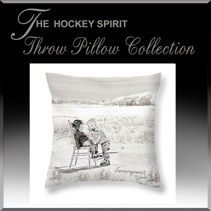 Cuddle up this hockey season with Hockey Spirit Throw cushions.  We have over 100 different ones to choose from. www.HockeyArt.org