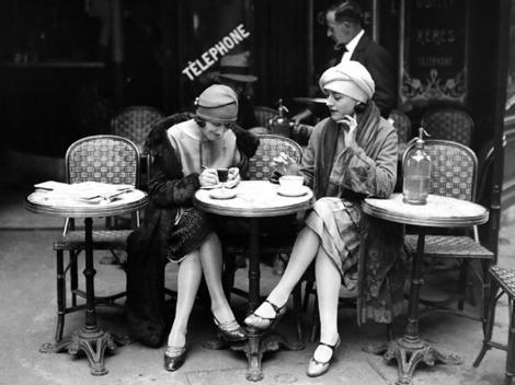 Elegant Old Woman | Frenchified women | Frenchified
