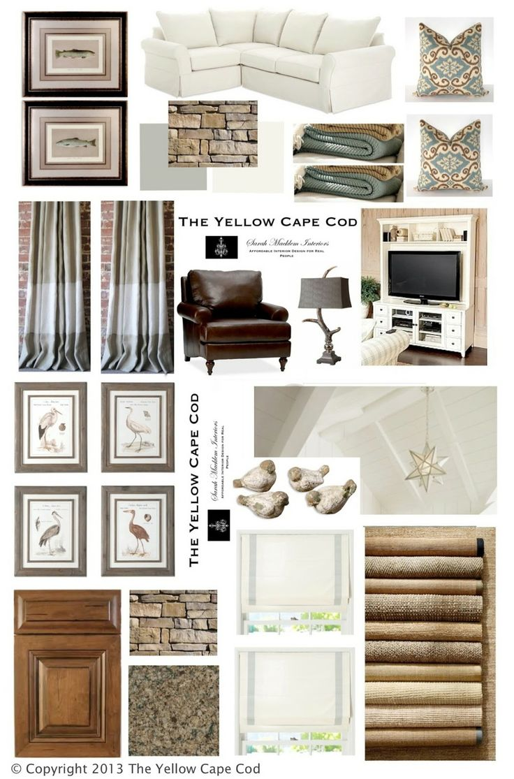 The Yellow Cape Cod: Rustic-chic Nature Inspired Lake Cottage -- LOVE THIS!