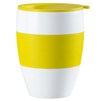 Koziol Aroma To Go Insulated Cup with Lid.