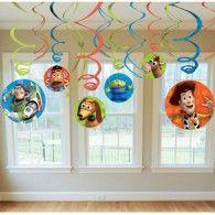 Hanging Swirls Toy Story 3 Pkt12 $12.95 A679594