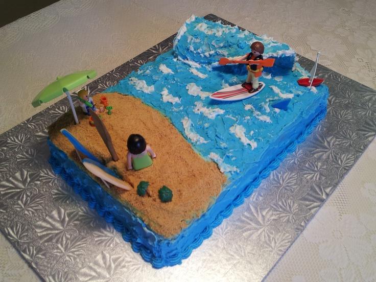 Cake Decorating Making Waves : SUP wave cake Cake Decorating Pinterest Cakes, Wave ...
