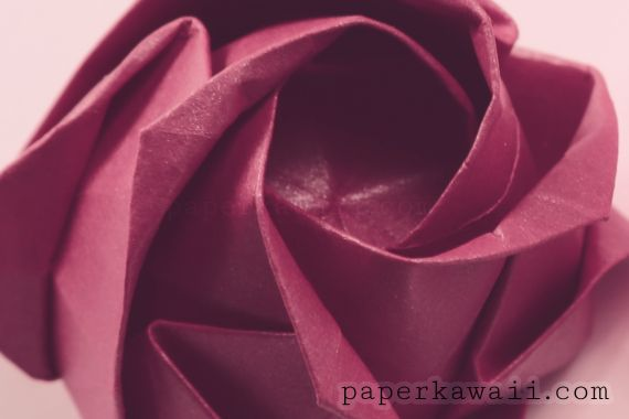 Learn How To Fold An Origami Kawasaki Rose By Toshikazu Full Pre Crease And Assembly I Hope You Find My Video Instructions Clear