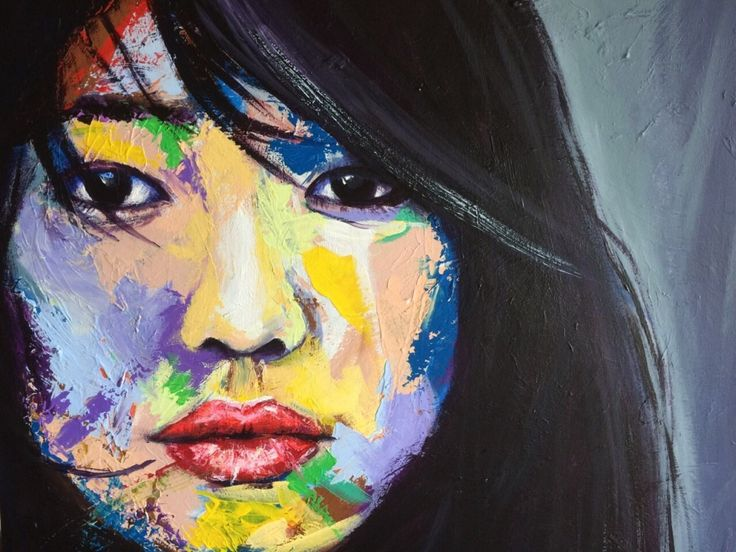 I hadn't painted many Asian faces so I was happy to find this image. The colours are fresh and vibrant, enhancing the girl's youthful, positive outlook on the world.  (scheduled via http://www.tailwindapp.com?utm_source=pinterest&utm_medium=twpin&utm_content=post55098082&utm_campaign=scheduler_attribution)