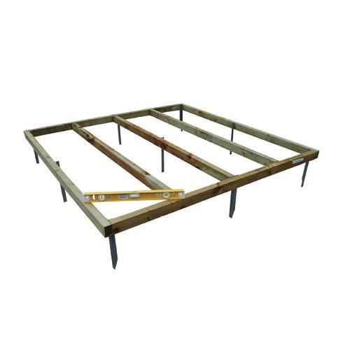 6x4 Shed Base - Timber Sheds - Garden Sheds & Buildings -Gardens - Wickes