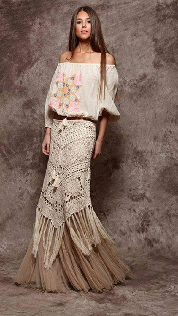 Beach crochet skirt PATTERN, crochet TUTORIAL in English (written + charted), trendy skirt crochet PATTERN, modern asymmetric skirt pattern