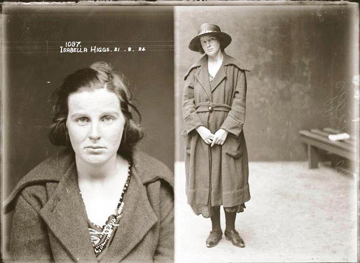 Après les femmes criminelles anglaises en 1900, voici aujourd'hui une nouvelle série deportraits de criminels réalisée en Australiepar leNew South Wal