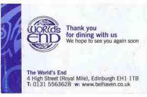 """Ich geh mit Dir bis """"ins"""" Ende der Welt... Wer Edinburgh besucht, der kommt an der Royal Mile (die Straße vom Palast bis zum Castle) nicht vorbei. Denn diese gehört zum absoluten Pfli..."""