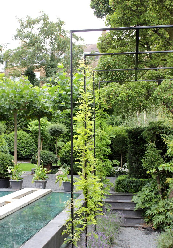 Simple trellis Anouska Hempel Design | Architects, Interior Design, Landscapes, Product Design and Furniture