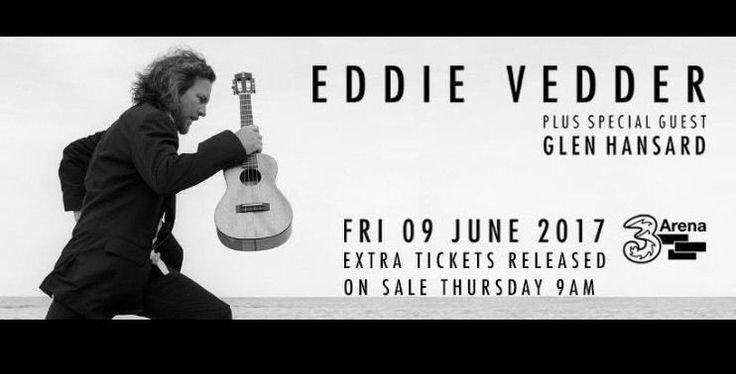 Eddie Vedder tickets Dublin x 2 | in Lisburn Road, Belfast | Gumtree
