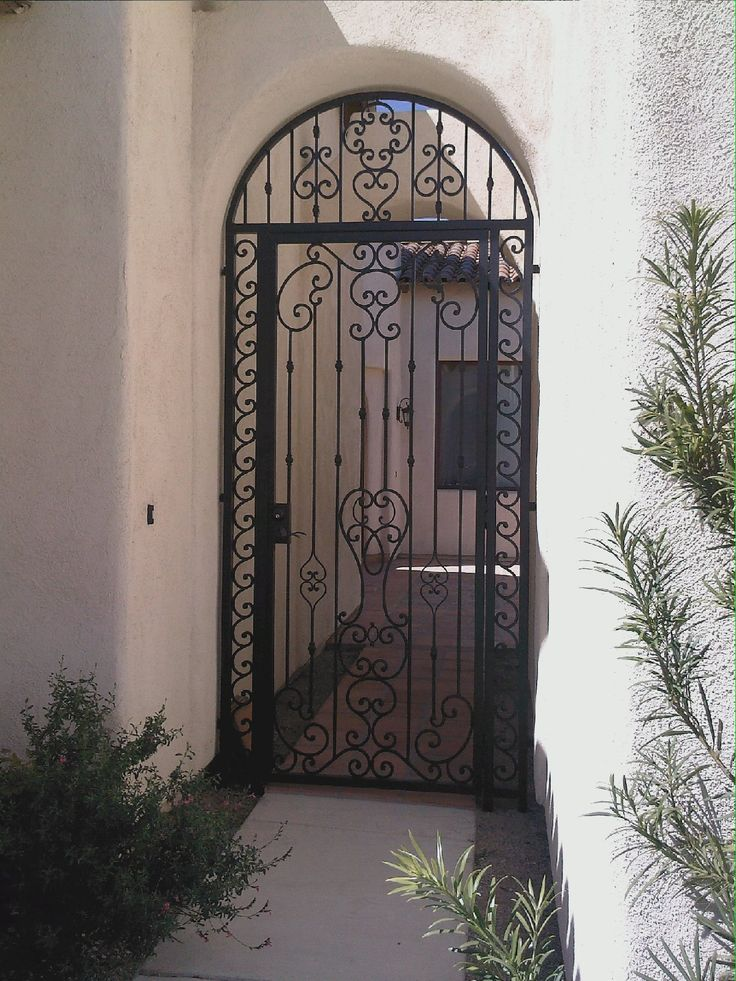 67 Best Front Doors Iron Gates Entrances Into Secluded