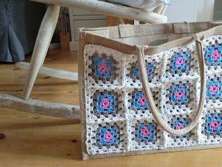 Handmade NL: Jute tas pimpen