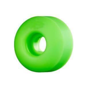 Green BLANK Skateboard WHEELS 54mm (Set of 4)