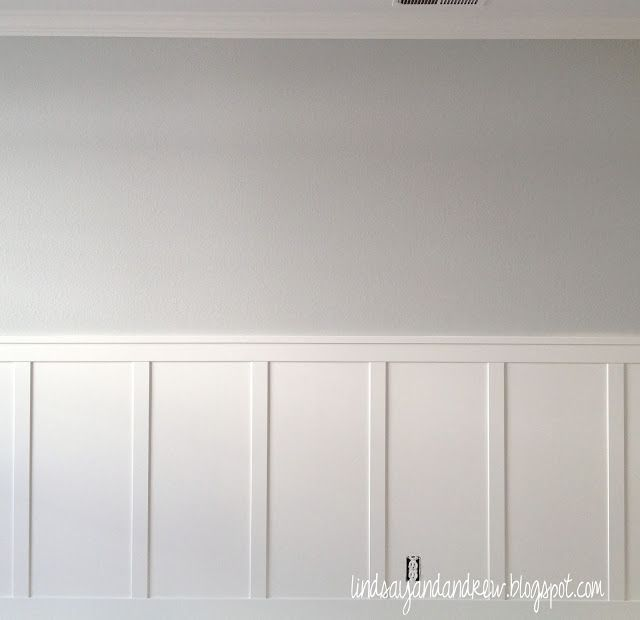 "Benjamin Moore ""Moonshine"" ~ Body Color, Above chair rail in Playroom"