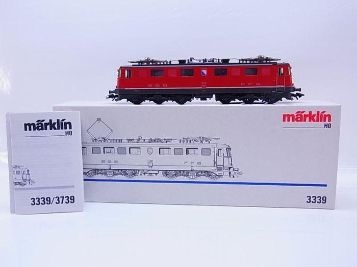 Märklin H0 - 3339 - E-Lok BR AE 6/6 SBB FFS rood  Märklin H0 - 3339 - E-Lok BR AE 6/6 SBB FFS roodBewerking-ID: 11426volledig functionele - motor loopt primaVolledig functioneel lichtzeer goede staat met slechts minimale tekenen van slijtageIn zeer goede originele kwaliteitFoto's - zie geen accessoires of papieren gelieveAls geen onderdelen afgebeeld levering zijn zoals zonder toebehorenLevering op de prijs van de vak- of zelfklevende etiketten kan worden gesitueerd in originele doos met…