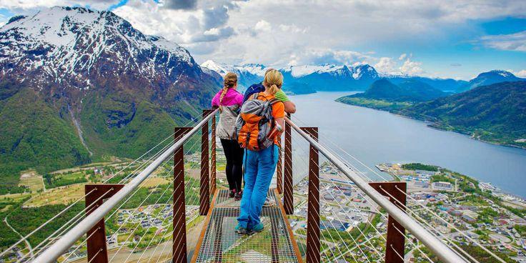 Romsdal, Åndalsnes. Wow