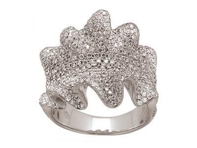 Bague frou frou Or gris, pavage diamants 2,32 ct http://www.cookson-clal.com/bijoux-termines-caplain-diamants/Bague-frou-frou-Or-gris-pavage-diamants-232-ct-prcode-XMFR-0905