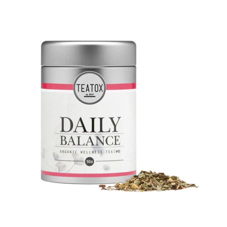 Daily Balance Organic Lemon Herbal Tea