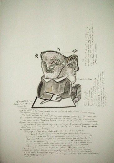 Jose Luis Cuevas / Obras-Cartas