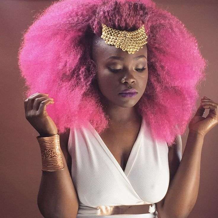 176 best Color Me Fro images on Pinterest | Colored natural hair ...
