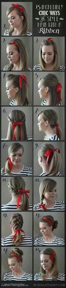 15 ways to use Ribbons!!