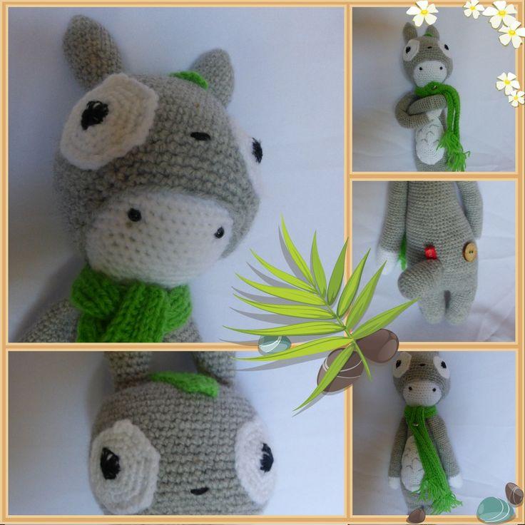 Gemaakt voor een grote Ghibli fan. Een Totoro Lalylala. Eventueel te bestellen via renzkeslwekkerbezig@weebly.com