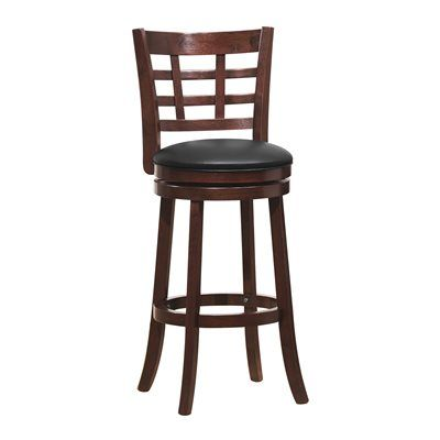 Homelegance 1142E-2 Edmond Swivel Pub Chair